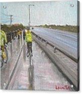 Cycle Club Acrylic Print
