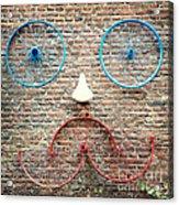 Cycle Face Acrylic Print
