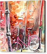 Cycling In Italy 02 Acrylic Print