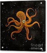Cycloptopus Black Acrylic Print