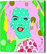 Cyndi Crawford Acrylic Print by Ricky Sencion