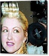 Cyndi Lauper 1988 Acrylic Print