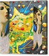 Cyprus And Aphrodite Acrylic Print