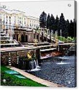 Czar Summer Palace Fountain Acrylic Print