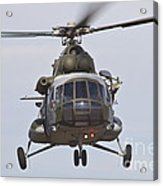 Czech Air Force Mi-171 Hip Helicopter Acrylic Print