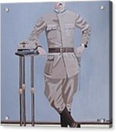 Czech Soldier Acrylic Print by Anthony Morris