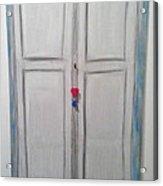 D1 - Door Acrylic Print