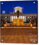 D13l112 Ohio Statehouse Photo Acrylic Print