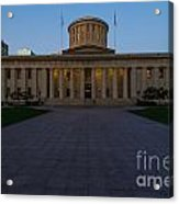 D13l83 Ohio Statehouse Photo Acrylic Print