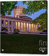 D13l94 Ohio Statehouse Photo Acrylic Print
