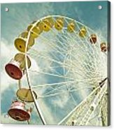 Da Big Wheel Acrylic Print