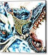 Da Dragon Comic IIacd Acrylic Print