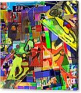 Daas 1h Acrylic Print by David Baruch Wolk