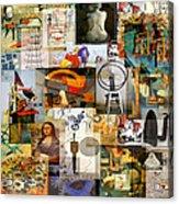 Dada Movement 1916  To 1922 Acrylic Print
