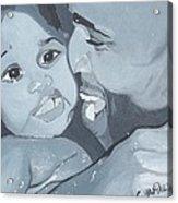 Daddy's Girl Acrylic Print
