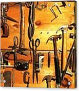 Dads Tools 3 Acrylic Print by Will Boutin Photos
