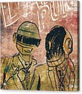Daft Punk  Acrylic Print by Jackson