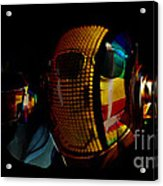 Daft Punk Pharrell Williams  Acrylic Print by Marvin Blaine