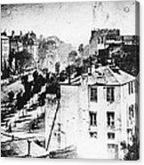 Daguerreotype, 1838 Acrylic Print