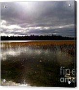 Dahler Lake In Emily Minnesota Acrylic Print