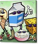 Dairy Food Group Acrylic Print