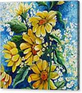 Daisy Breath Acrylic Print