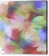 Daisy Floral Abstract Acrylic Print