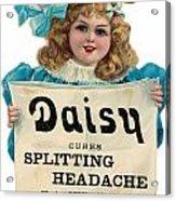 Daisy Headache Cure Acrylic Print