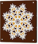 Daisy Mandala  12t Acrylic Print