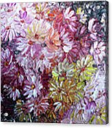 Daisy Mix   Sold Acrylic Print
