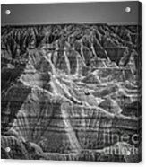 Dakota Badlands Acrylic Print