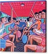 Dalawa Nalang Aalis Na Acrylic Print