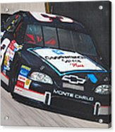 Dale Earnhardt At Bristol Acrylic Print