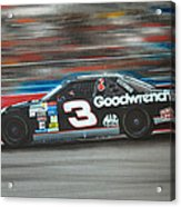 Dale Earnhardt Goodwrench Chevrolet Acrylic Print