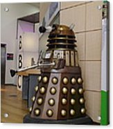Dalek At The Bbc 2 Acrylic Print