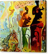 Dali Oil Painting Reproduction - The Hallucinogenic Toreador Acrylic Print