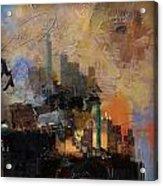 Dallas Abstract 002 Acrylic Print