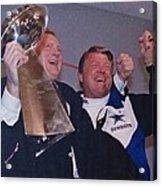 Dallas Cowboys 1992 National Football League Champions Acrylic Print