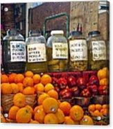 Dallas Farmers Market - Pickels? Acrylic Print