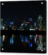 Dallas Reflections Acrylic Print
