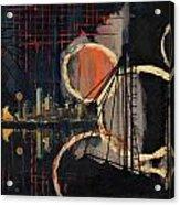 Dallas Skyline 002 Acrylic Print