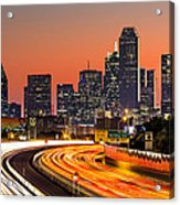 Dallas Sunrise Acrylic Print
