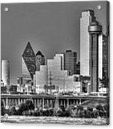 Dallas The New Gotham City  Acrylic Print