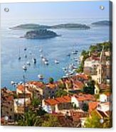 Dalmatian Coast Acrylic Print