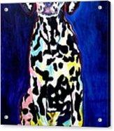 Dalmatian - Polka Dots Acrylic Print