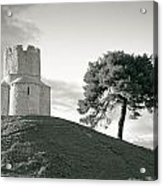 Dalmatian Stone Church On The Hill Acrylic Print by Brch Photography