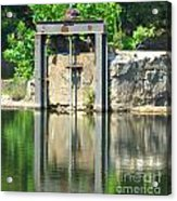 Dam Gate Acrylic Print