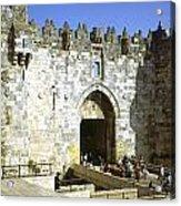 Damascus Gate Jerusalem Acrylic Print