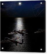 Dambusters North Sea Crossing Acrylic Print