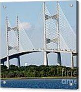Dames Point Bridge Jacksonville Florida Acrylic Print